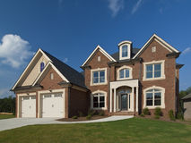 Model home luxury house Stock Photography