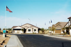 Model Homes 2. Model homes in a new subdivision in an Arizona suburb Stock Images