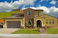 Model Homes royalty free stock photos