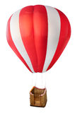 Model hot air balloon with wicker basket Royalty Free Stock Photography