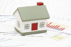Model of a house Stock Images