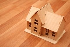 Model of house Royalty Free Stock Photography