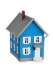 Model house isolated on white Stock Photo