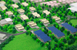 Model house structure Stock Images