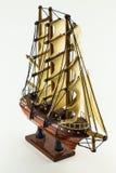 Model houten schip Stock Afbeeldingen