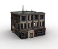 Model huis vector illustratie