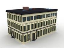 Model huis Royalty-vrije Stock Afbeeldingen