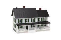 Model hus Arkivbilder