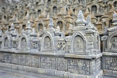 Model of Indian temple Stock Images