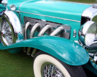 Model J Duesenberg. 1930s Model J Duesenberg. One of the rarest and most expensive autos on the planet Stock Images