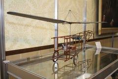 Model jednośrubowy śmigłowcowy b n Yuriev 1912 obraz stock