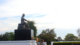 Model of King naresuan Royalty Free Stock Photos