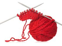 Model of knitting Stock Photos