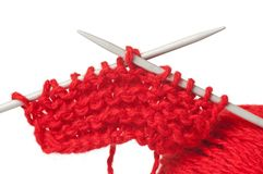 Model of knitting Royalty Free Stock Image