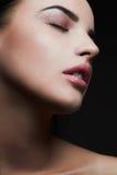 model kvinna för skönhet Härlig yrkesmässig makeup Arkivbilder