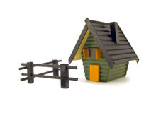 Model of Land with house Stock Photos