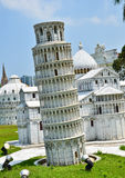 Model of the Leaning Tower of Pisa Stock Photo