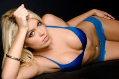 Model in Lingerie Royalty Free Stock Images