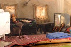 Model of living room Stock Images