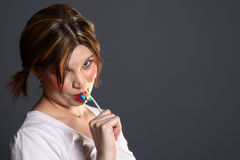 Model lollipop Stock Photos
