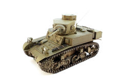 Model M3  light tank top view Royalty Free Stock Images
