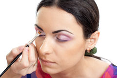 Model make-up isolated Stock Images