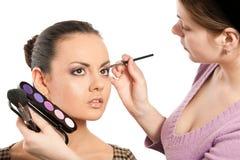 Model with makeup Stock Photos