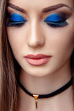 A model with makeup Stock Photography