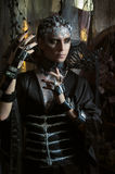 Model man in fantasy costume Stock Photos