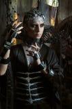 Model man in fantasy costume. In studio Stock Photos