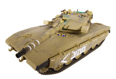 Model of Merkava tank Royalty Free Stock Photo