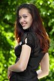 Model met steunen Stock Fotografie