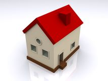 Model of modern house Stock Photo