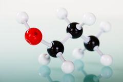 Model of molecular structure Stock Photos