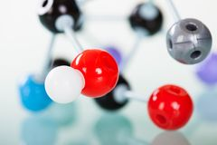 Model of molecular structure Stock Photography