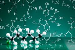 Model of molecular structure Stock Images