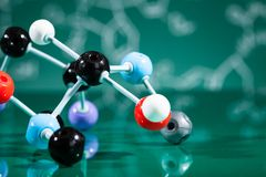 Model of molecular structure Royalty Free Stock Photos