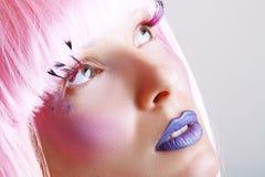 Model mooie vrouwen Stock Foto's