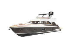 Model of a motor  boat Royalty Free Stock Photo