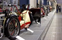 model motorcykeltappning Arkivfoto