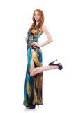 Model in nice dress Stock Image