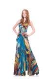 Model in nice dress Stock Photos