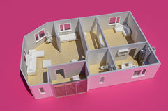 Model dom ilustracji