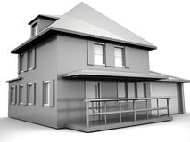 Model Of House Stock Images