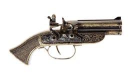 Model of the old gun Stock Image