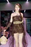 Model op de de manierparade van een student Royalty-vrije Stock Afbeeldingen