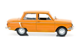 Model of orange car Royalty Free Stock Photo