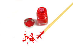 Model paint Royalty Free Stock Photography