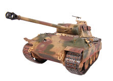 Model of Panther tank Stock Image
