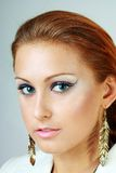 Model with perfect make up Royalty Free Stock Images